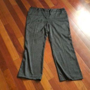 Grey dress pants 18w